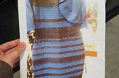 The Color Changing Dress is Hot